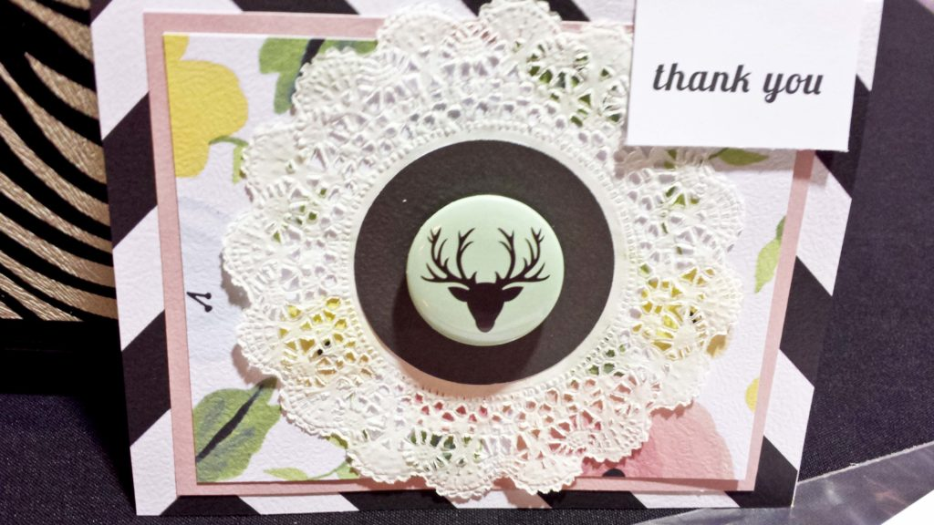 Crop & Create 2016 Thank You Card