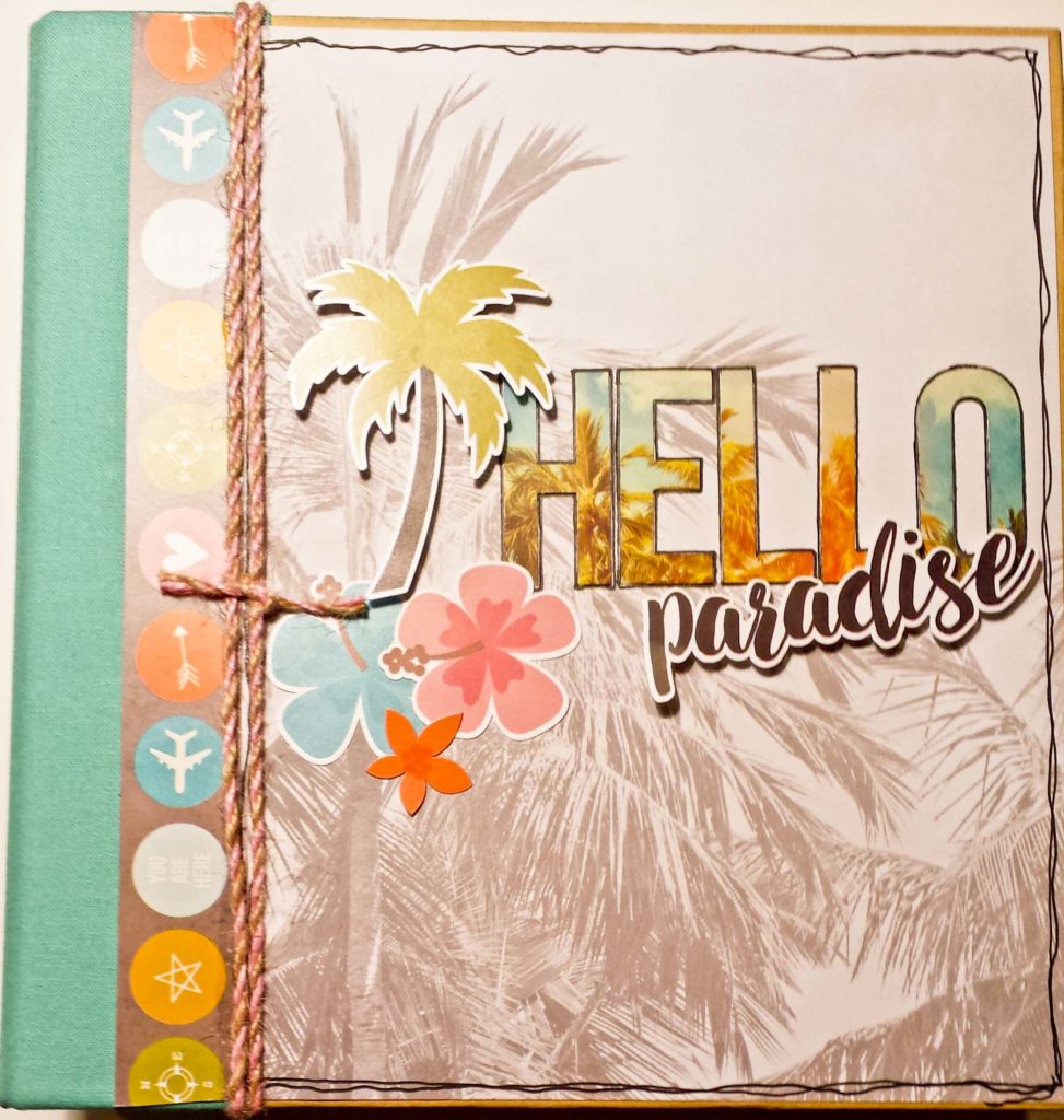 Crop & Create 2016 Hello Paradise Album