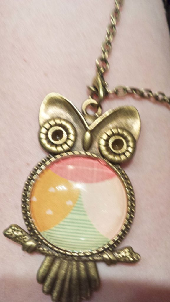 Crop & Create Owl Pendant