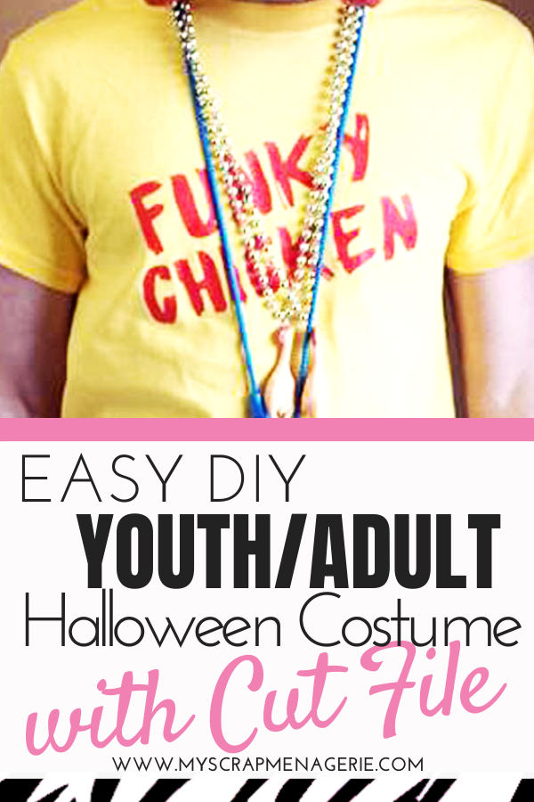 Easy DIY youth adult Halloween costume