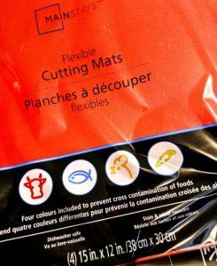 Do not use Mainstay Flexible Cutting Mats