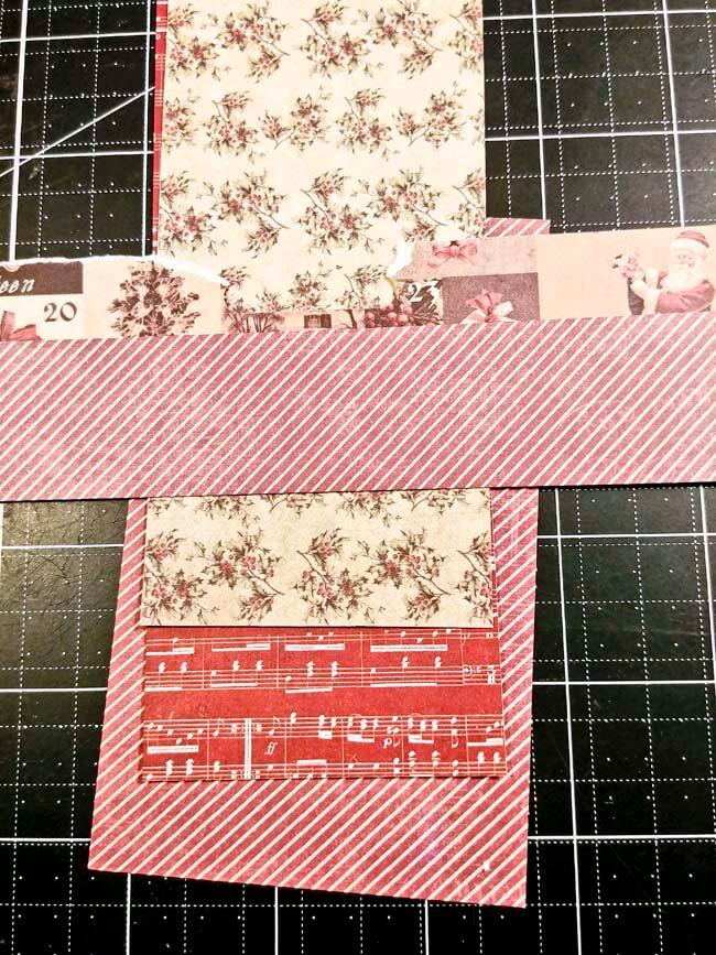 Paper Roll Tree Card 1