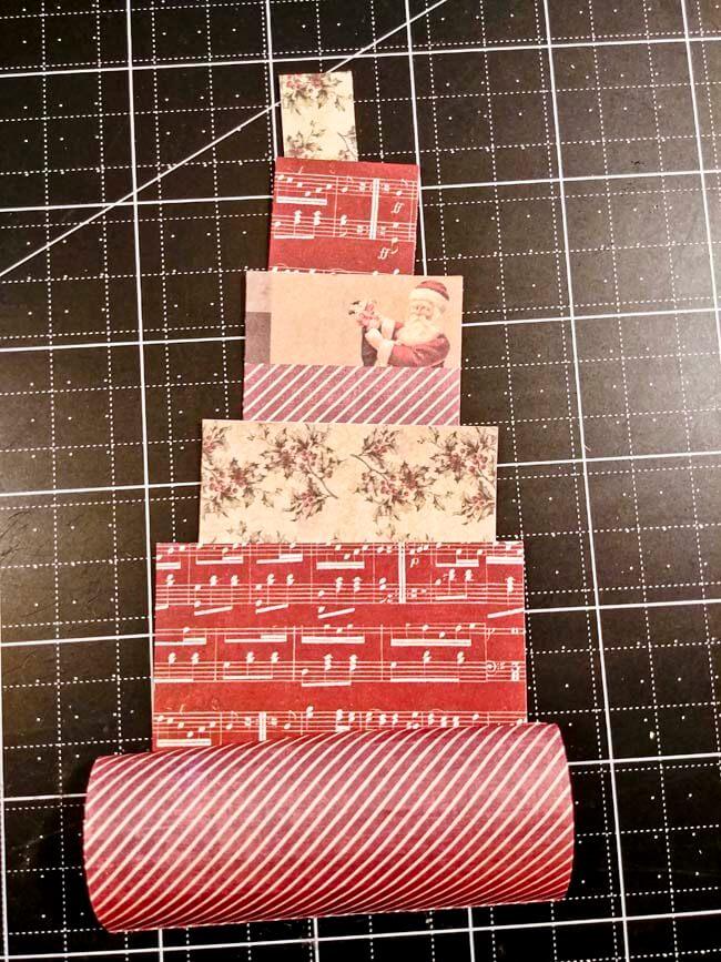 Paper Roll Tree Card 2