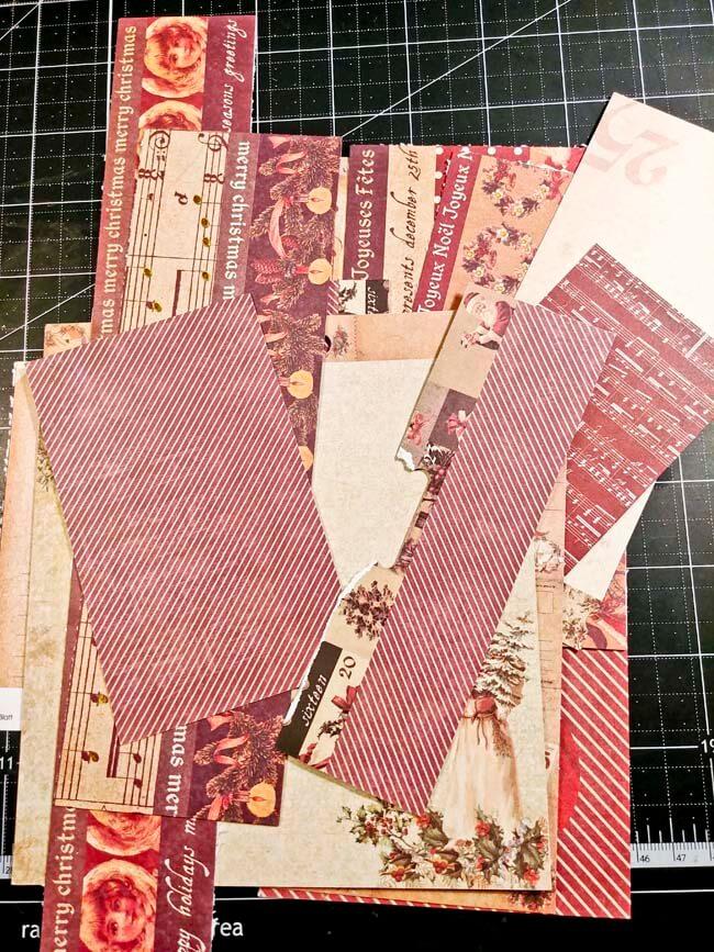 Paper Roll Tree Card