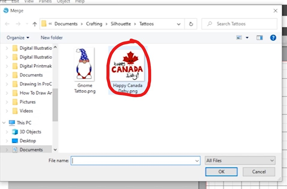 Pick Canada Day Design