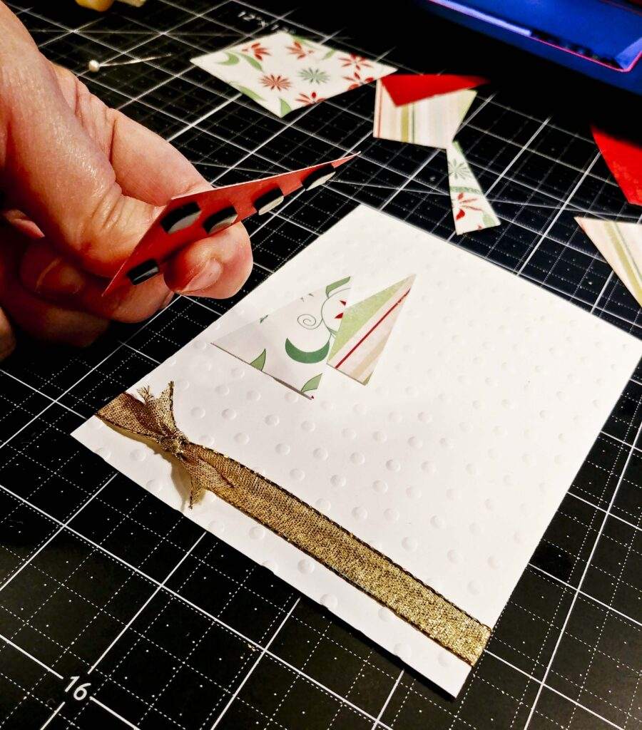 Triangle Trees card 7
