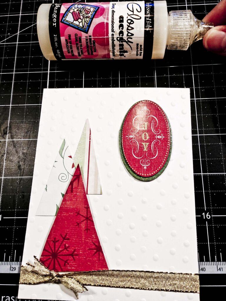 Triangle Trees Card 8