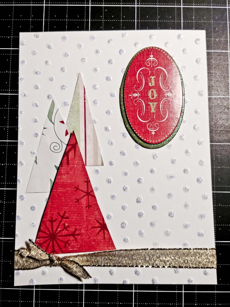Triangle Tree Card 9